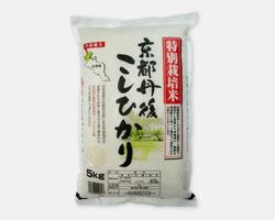 京都丹後産コシヒカリ(特別栽培米)